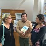 Visita de Escritora Alicia Fenieux a INCOED